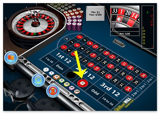 Betting on Red in Roulette